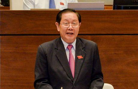 Bo truong Noi vu xin lui thong qua Luat ve hoi - Anh 1