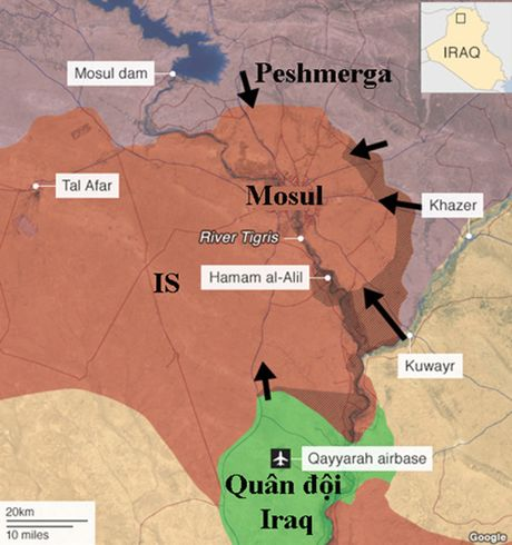 Bong ma sa mac - Muu toan tra thu cua IS khi Mosul that thu - Anh 1