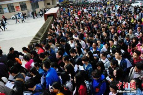 Nghet tho gan 8000 nguoi chen chan ung tuyen cho 1 vi tri… tiep tan - Anh 1