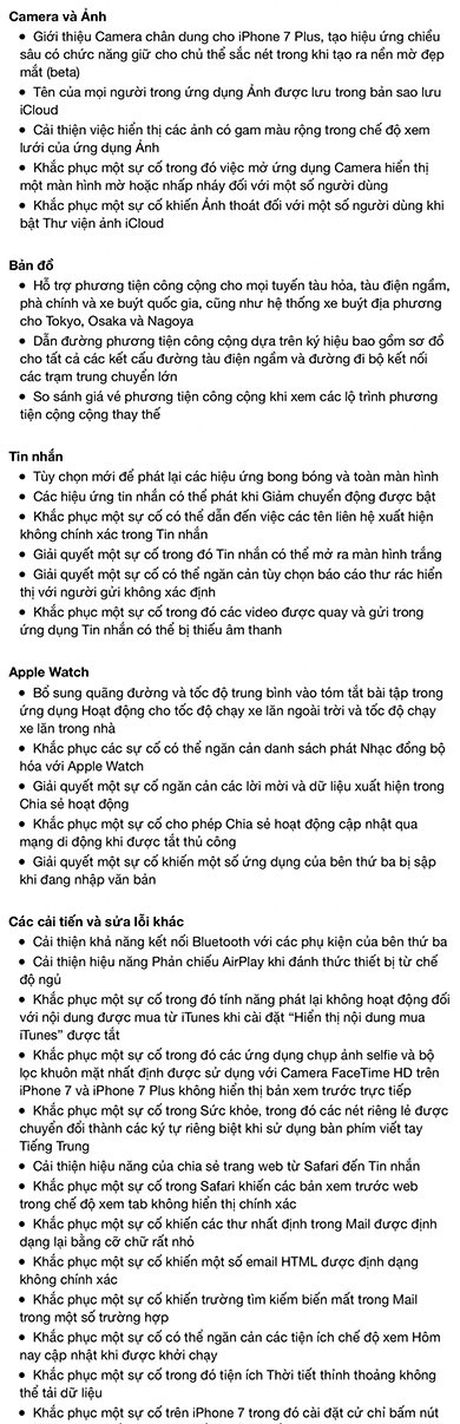Apple ra iOS 10.1, cai thien camera cho iPhone 7 Plus - Anh 2