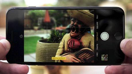 Khai thac che do chup anh xoa phong tren iPhone 7 Plus - Anh 1