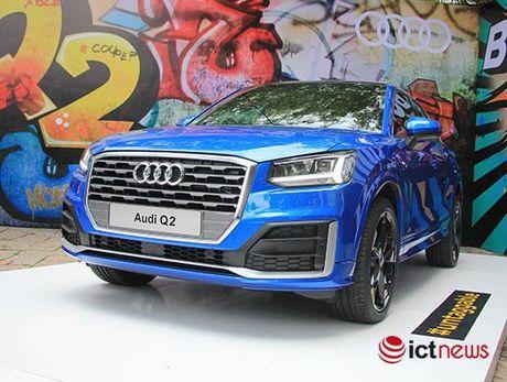 Audi Q2 ra mat truoc them Trien lam xe VIMS 2016 - Anh 1