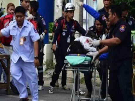Mien Nam Thai Lan lai rung chuyen vi bom no chet nguoi - Anh 1