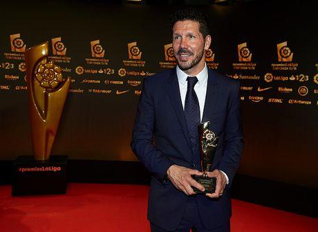 Messi khong duoc vinh danh cau thu hay nhat La Liga - Anh 1
