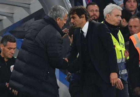 'Conte khong co y dinh si nhuc MU hay Mourinho' - Anh 1