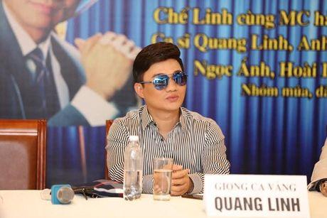 Ly do bat ngo khien Quang Linh khong to chuc liveshow - Anh 1