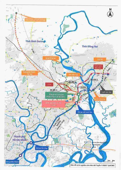 Nhat Ban tai tro tuyen noi metro so 1 ve Binh Duong, Dong Nai - Anh 1