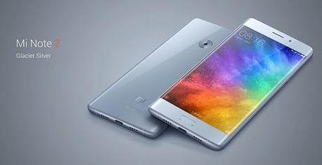 Xiaomi Mi Note 2 chinh thuc ra mat voi nhieu diem an tuong - Anh 1