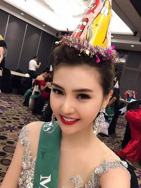 'Ban chat' cuoc thi Nu hoang Sac dep Toan cau 2016 Ngoc Duyen vua dang quang - Anh 11