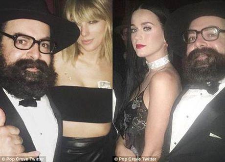 Taylor Swift va 'ke thu' Katy Perry cung... ban trai cu cua ca hai 'doi mat' o tiec sinh nhat - Anh 7