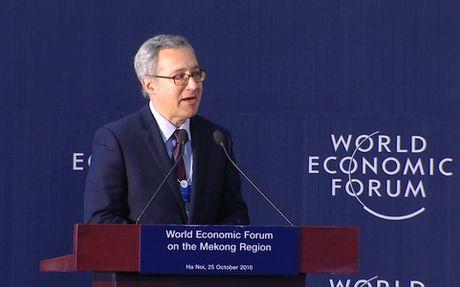 WEF-Mekong 2016: Thuc day ket noi va phat trien ben vung trong khu vuc - Anh 1