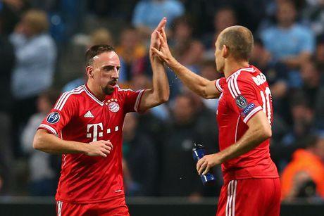 Lewandowski, Robben va Ribery tiep tuc gan bo voi Bayern - Anh 2