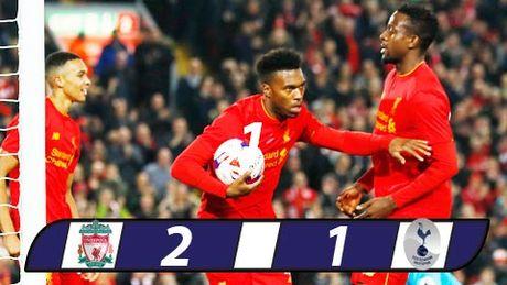Sturridge lap cu dup, Liverpool cua Klopp lan dau thang Tottenham - Anh 1