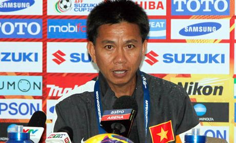 HLV Hoang Anh Tuan noi ve tran chien voi U19 Nhat Ban - Anh 1