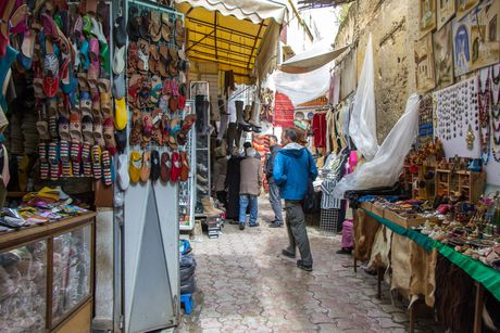 Kham pha nhung khu pho co xua doc dao o Moroco - Anh 10