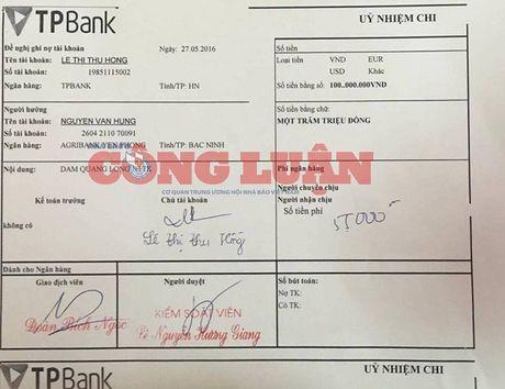 Huyen Yen Phong (Bac Ninh): Giam doc Ban QLDA thua nhan hanh vi 'ep' doanh nghiep chuyen tien - Anh 2
