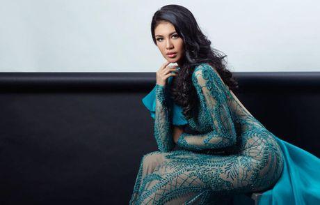 """Nguoi dep Indonesia dang quang """"Hoa hau Hoa binh quoc te"""" 2016 - Anh 3"""