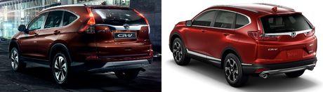 So sanh Honda CR-V cu va moi - Anh 2