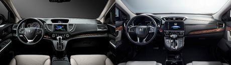 So sanh Honda CR-V cu va moi - Anh 3