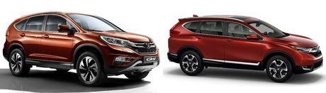 So sanh Honda CR-V cu va moi - Anh 4