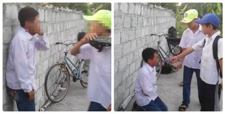 Vu hoc sinh lop 7 bi danh: 'Dan anh' nhieu lan chan duong xin tien - Anh 1