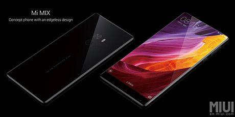 Xiaomi Mi Mix man hinh vien cuc ky mong trinh lang - Anh 1