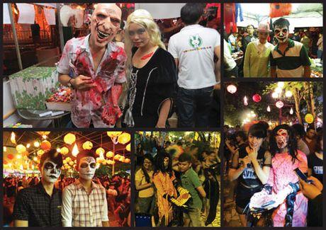 Halloween Party 2016 - le hoi hoa trang day mau sac tai he thong Tho Trang - Anh 5