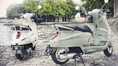 Peugeot Django 'doi thu' cua Vespa co gi dac biet? - Anh 1