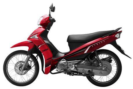So sanh hai chiec xe may ban chay nhat Yamaha Sirius va Honda Blade - Anh 2