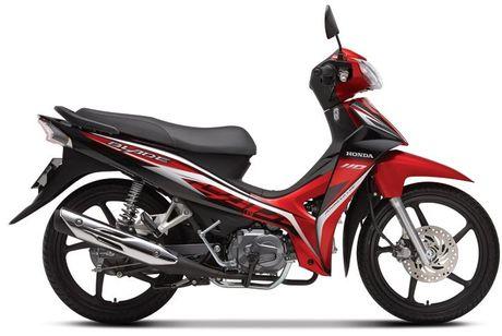 So sanh hai chiec xe may ban chay nhat Yamaha Sirius va Honda Blade - Anh 3