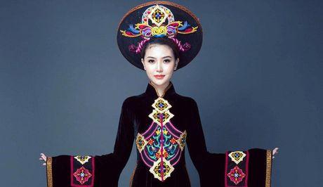 Ngam can canh quoc phuc du thi cua Ngoc Duyen tai Miss Global Beauty Queen - Anh 1
