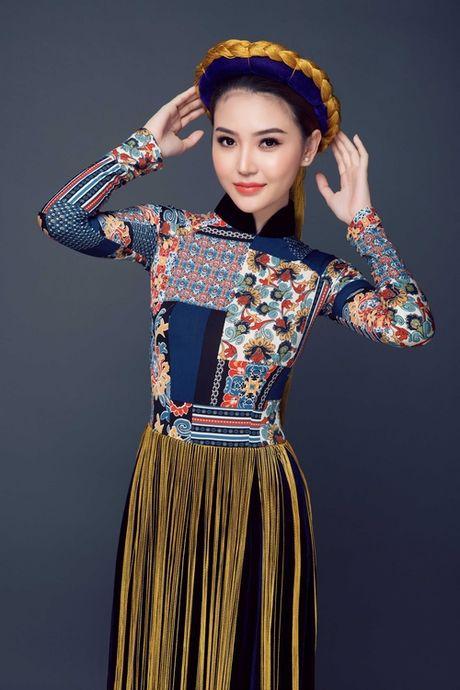 Ngam can canh quoc phuc du thi cua Ngoc Duyen tai Miss Global Beauty Queen - Anh 2