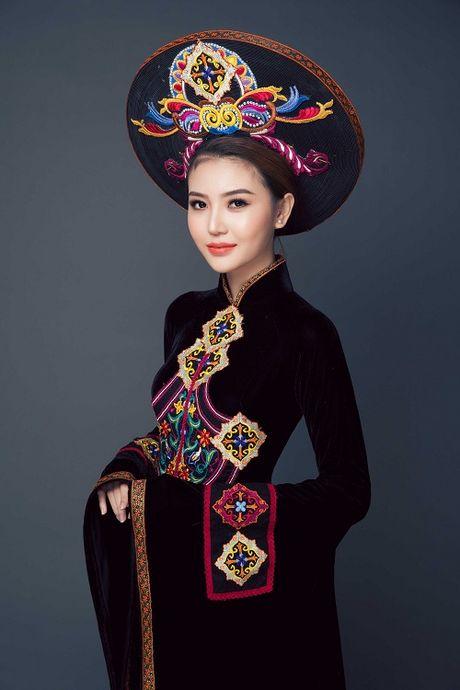 Ngam can canh quoc phuc du thi cua Ngoc Duyen tai Miss Global Beauty Queen - Anh 6