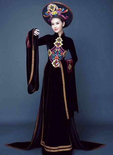 Ngam can canh quoc phuc du thi cua Ngoc Duyen tai Miss Global Beauty Queen - Anh 7