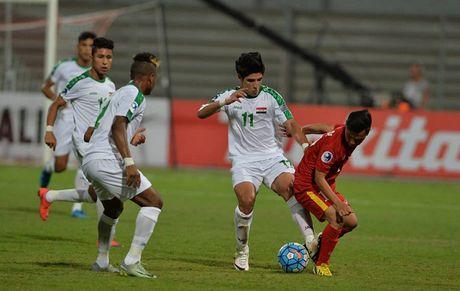 Ban tin The thao: AFC phat nang U19 Viet Nam vi... U19 Iraq ra san muon - Anh 1