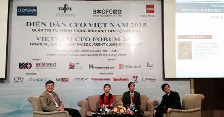 Hon 300 nha tai chinh tham du Dien dan CFO Viet Nam 2016 - Anh 1