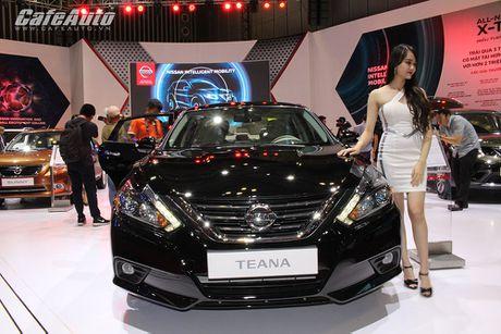 Nissan Teana 2016 ra mat tai VIMS 2016 - Anh 1