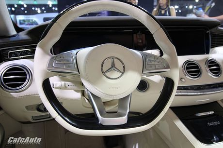 "Chiem nguong ""tuyet tac"" Mercedes-Benz S500 Cabriolet tai VIMS 2016 - Anh 10"