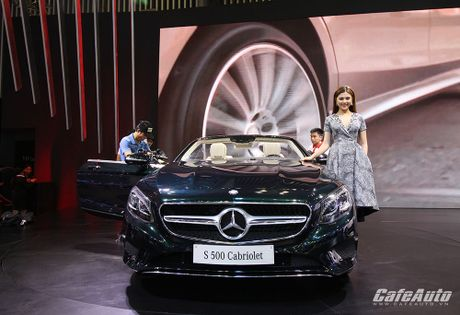 "Chiem nguong ""tuyet tac"" Mercedes-Benz S500 Cabriolet tai VIMS 2016 - Anh 1"