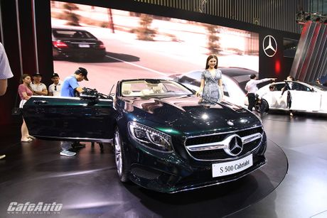 "Chiem nguong ""tuyet tac"" Mercedes-Benz S500 Cabriolet tai VIMS 2016 - Anh 2"