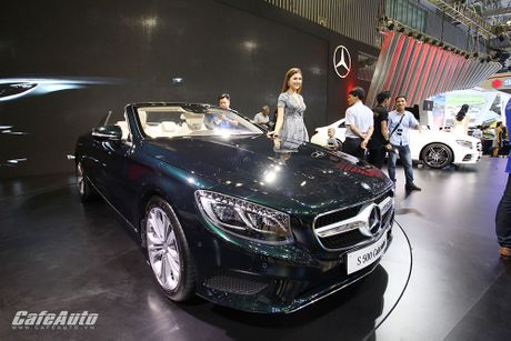 "Chiem nguong ""tuyet tac"" Mercedes-Benz S500 Cabriolet tai VIMS 2016 - Anh 3"