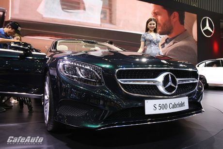 "Chiem nguong ""tuyet tac"" Mercedes-Benz S500 Cabriolet tai VIMS 2016 - Anh 4"