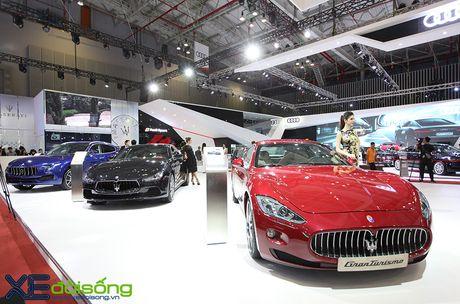 Dan xe Maserati goi cam lan dau xuat hien tai VIMS 2016 - Anh 1