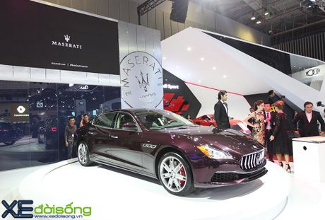 Dan xe Maserati goi cam lan dau xuat hien tai VIMS 2016 - Anh 2