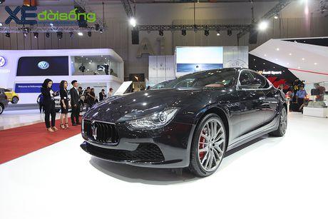 Dan xe Maserati goi cam lan dau xuat hien tai VIMS 2016 - Anh 3