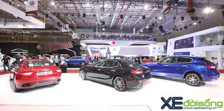 Dan xe Maserati goi cam lan dau xuat hien tai VIMS 2016 - Anh 4
