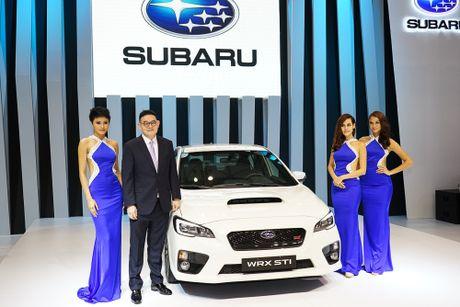 Subaru Viet Nam tai VIMS 2016: Dam dac phong cach the thao - Anh 1