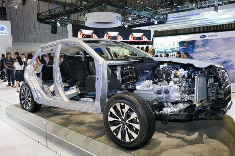 Subaru Viet Nam tai VIMS 2016: Dam dac phong cach the thao - Anh 3