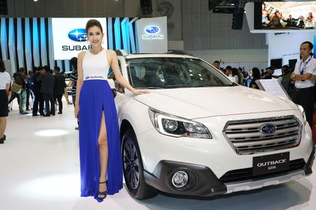 Subaru Viet Nam tai VIMS 2016: Dam dac phong cach the thao - Anh 4