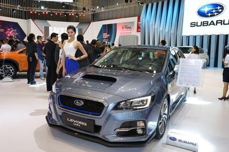 Subaru Viet Nam tai VIMS 2016: Dam dac phong cach the thao - Anh 5